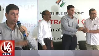 Telangana Election Commission CEO Rajat Kumar Participate In Voter Registration Campaign