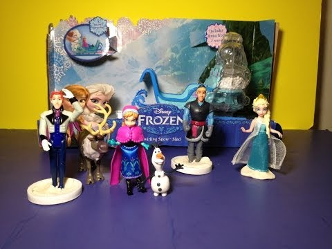 Disney Frozen Complete Story Playset with Disney Princess Anna + Disney Princess Elsa + Olaf