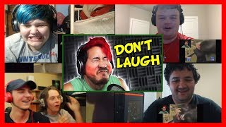 Markiplier - Try Not To Laugh Challenge Reaction Mashup