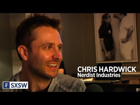 Chris Hardwick, Duke Of Nerds, At SXSW