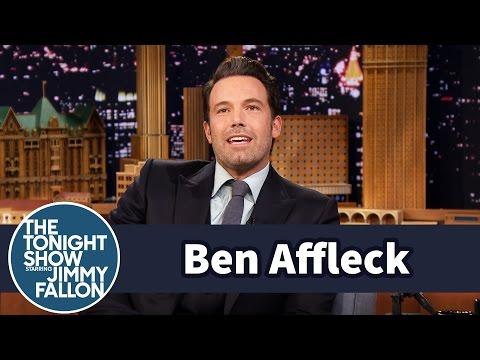 Ben Affleck's Son Calls Jimmy Fallon The Man