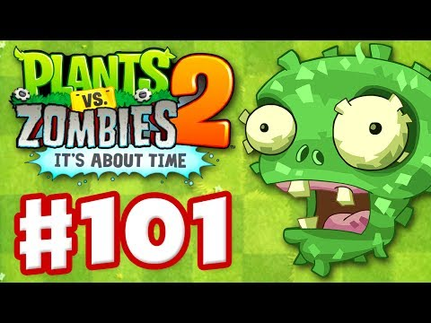 Plants vs. Zombies 2: It s About Time - Gameplay Walkthrough Part 101 - Señor Piñata (iOS)