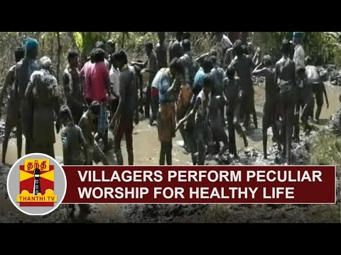 Villagers in Kodaikanal perform peculiar worship for healthy and strong life | Thanthi TV