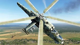 DCS: Mi-24V vs AH-64D cuộc chiến trực thăng.