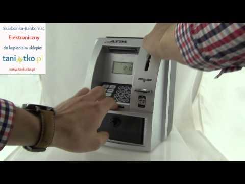 Skarbonka-Bankomat - Dostępna w sklepie www.taniutko.pl