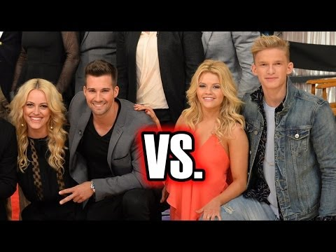 Cody Simpson VS. James Maslow on Dancing With the Stars Season 18
