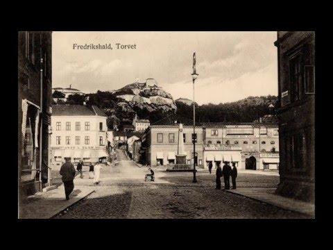 Gamle bilder fra Fredrikshald og Halden
