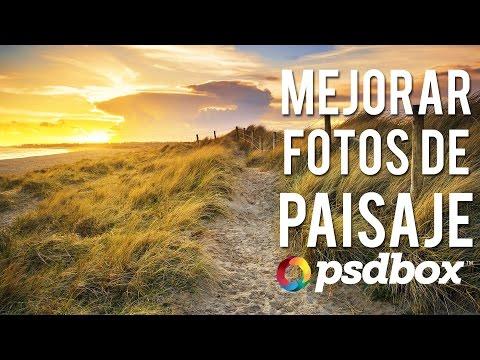 Mejorar fotos de Paisaje con Tonos HDR en Photoshop