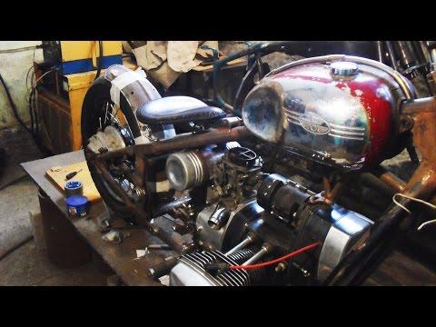 Как сделать двигатель на днепре 111