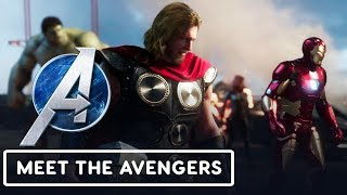 Marvel's Avengers: Meet the Cast Official Reveal Trailer - E3 2019