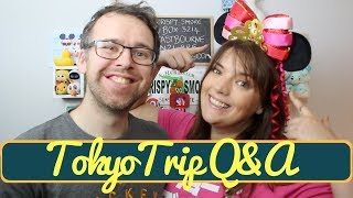 Tokyo Disneyland | We Answer Your Questions | Q&A June 2018 | KrispySmore