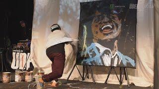 Pokaz Bboy Freak aka Freak Sinatra na Massive Monkees Day 2015