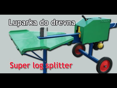 Luparka do drevna Super log splitter 220 V