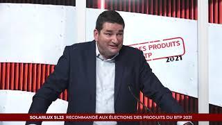 Élection des Produits du BTP 2021 - SOLARLUX