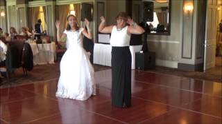 Greatest Mother-Daughter Wedding Evolution Dance, But Watch the Ringbearer!