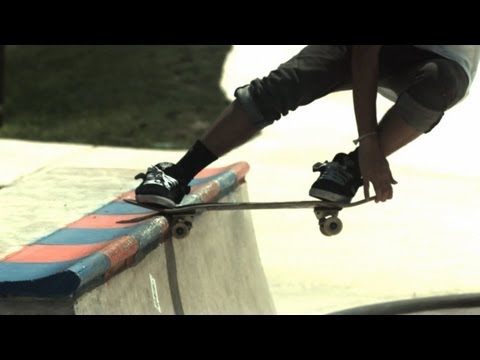 Adam Van 600 fps slow motion skateboarding