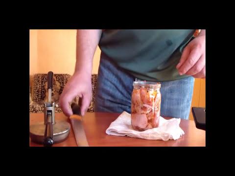 Как приготовить тушенку в автоклаве - видео