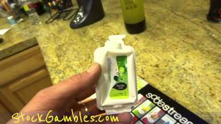 SodaStream Mountain Dew Fountain Mist Taste Machine Test How To Video Review Comparison