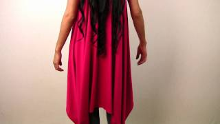 Create A Sleeveless Draped Cardigan In 30 Seconds