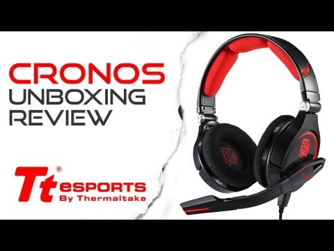 Tt eSPORTS - CRONOS Unboxing & Review