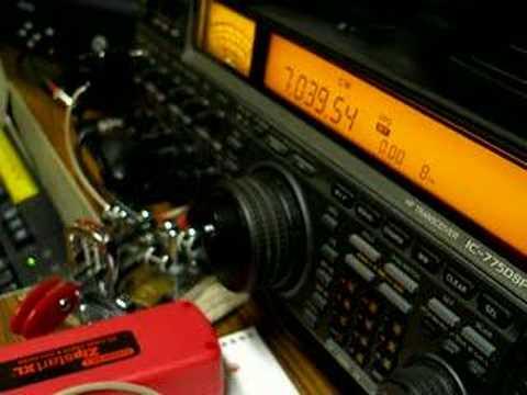 QRP HAM RADIO CW TRANSMITTER