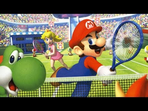 Classic Game Room - MARIO TENNIS OPEN review for Nintendo 3DS