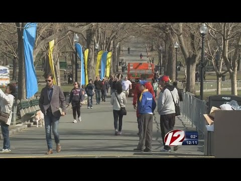 Heavy Security in Place for Boston Marathon