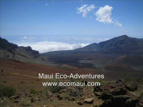 Haleakala Crater Hike with Maui Eco Adventures Video