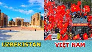 Người Uzbekistan Thờ Ơ, Việt Nam Thất Thủ Đón U23