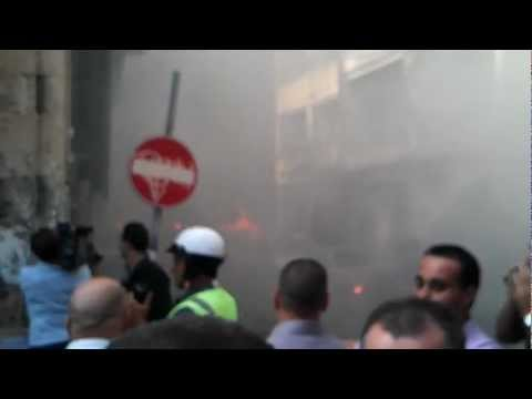 Car bomb blast in Lebanese capital