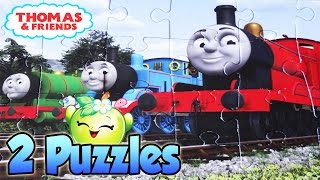 THOMAS AND FRIENDS Puzzle Game Rompecabezas Thomas the tank Toys Videos Kids Jigsaw Puzzles Learning