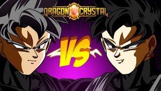 DARK INE SUPER SAIYAJIN 5 vs DARK INE GT SSJ5 +CÓDIGOS DRAGON CRYSTAL ‹ Frango ›