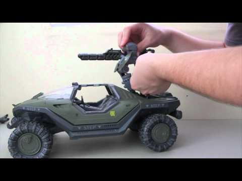 Halo Reach Series 3 - Gauss cannon Vehicle Upgrades Pack Action Figure Review