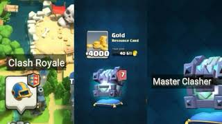 Clash Royale|Legendary King's chest opening||Master Clasher||