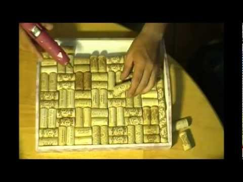 How To Make A Serving Tray Out Of Wine Corks