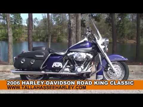 Used 2006 Harley Davidson Road King Classic Motorcycles for sale - Bradenton, FL