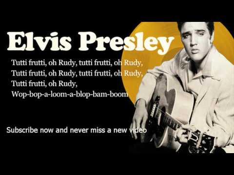 Elvis Presley - Tutti Frutti