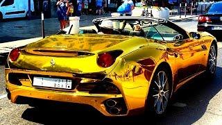 Filho do Ex-Presidente Lula Foi Visto Com Ferrari de Ouro no Uruguai?