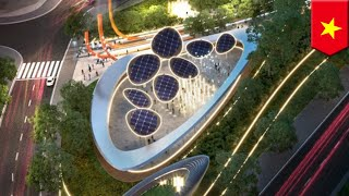 Sustainable park with 'solar trees' planned for Vietnam's Ho Chi Minh City - TomoNews
