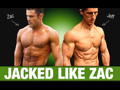 Zac Efron Workout and Diet Plan (BAYWATCH!!)