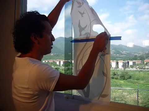 Deco formax instrucci n como pegar vinyl en vidrio 70x40cm - Papel de vinilo para cocinas ...