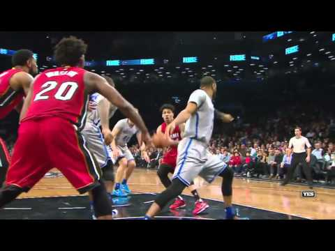Miami Heat vs Brooklyn Nets | January 26, 2016 | NBA 2015-16 Season
