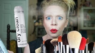 download lagu Dry Shampoo For Makeup Brushes- First Impression Friday gratis