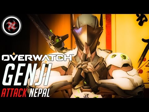 Overwatch Indonesia Genji Gameplay Attack Nepal