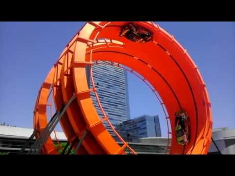 Hot Wheels Double Loop Dare X Games 2012