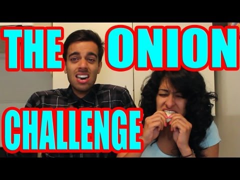 THE ONION CHALLENGE | PINKY & RUPESH