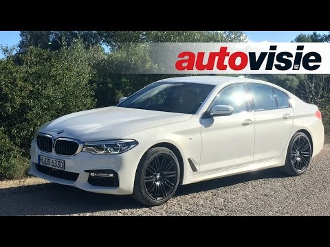 Review BMW 5 Serie G30 (2017) - By Autovisie TV
