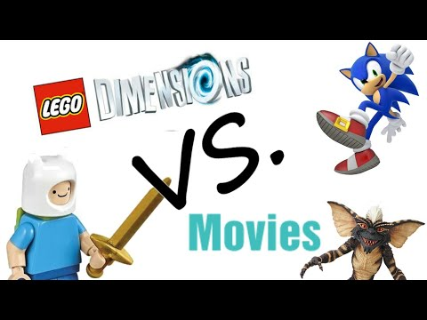 Lego Deminsions Minifigures VS Tv Shows And Movies
