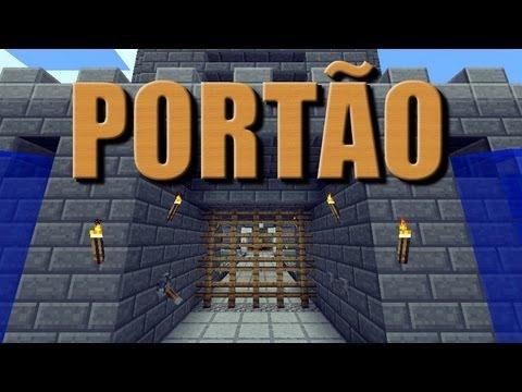 Portão para Castelo Ezert Minecraft Tutorial 26 + Download