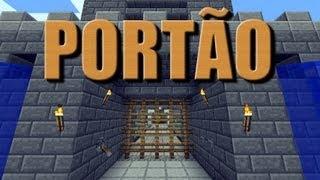 Portão para Castelo (Ezert) - Minecraft Tutorial 26 + Download